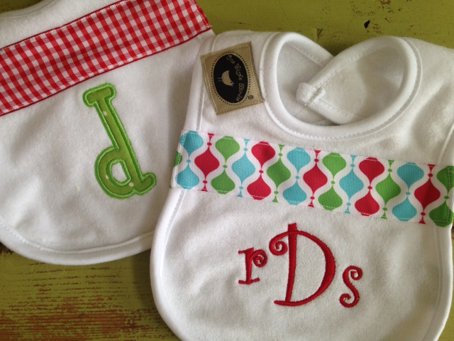 Christmas Bib-bib, personalized, Christmas, infant, newborn
