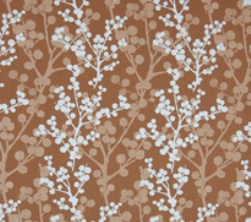 Fabric - Blue Branch-