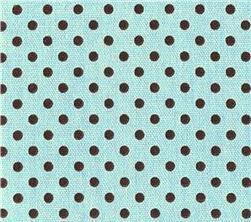 Fabric - Blue Dottie-
