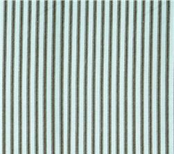 Fabric - Blue Ticking Stripe-