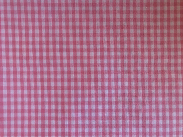 Minky Changing Roll - Pink Gingham-