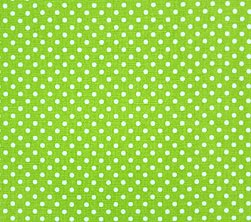 Fabric - Green Dottie-