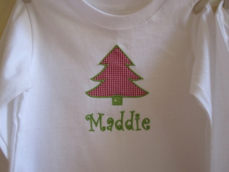 Christmas Tree Shirt-monogrammed, personalized, boy, girl