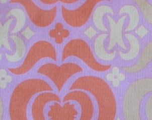 Changing Roll - Amy Butler Orange & Pink