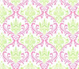 Fabric - Madison - Pink & Green-
