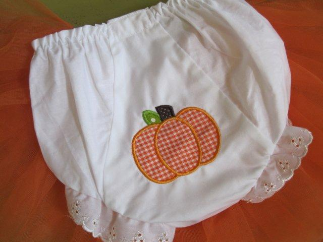 Pumpkin Bloomers-bloomers, Halloween, Thanksgiving, pumpkin